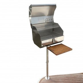 churrasqueira nautica bruce inox b45 dupla completa para plataforma de lancha b45 dupla fundo branco 2 comprimida